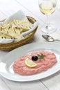 Taramasalata cod roe dip greek food Royalty Free Stock Photos