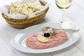Taramasalata cod roe dip greek food Stock Photos