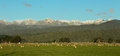 Tararua rangers with winters first dusting of snow Stock Images