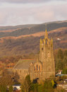 Tarbert church in argyll scotland Stock Photography