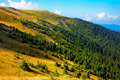 Tarcu Mountains Royalty Free Stock Photography