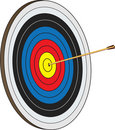On Target Royalty Free Stock Image