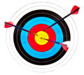 Target archery Royalty Free Stock Image