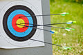 Target archery Stock Images
