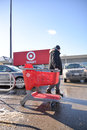 Target canada liquidation sales begin thursday toronto ontario th february Stock Image