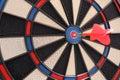 Target and dart Stock Image