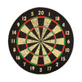 Target for darts. Royalty Free Stock Photo