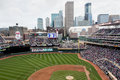 Target Field in Dowtown Minneapolis Stock Image