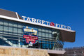 Target field minneapolis mn usa september exterior of home of the minnesota twins major league baseball team is site Stock Photo
