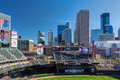 Target field minneapolis mn usa september home of the minnesota twins major league baseball team is site of the major Stock Photography
