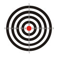 Target for game in a darts Royalty Free Stock Image