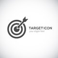 Target icon logo concept vector illustration for your design Stock Photography