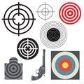 Target icon or symbol set