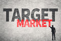 Target Market Royalty Free Stock Photo