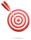 Target  one arrow Stock Image