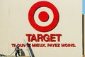 Target stores american retail giant opening up in quebec canada Stock Photo