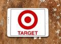 Target stores logo Royalty Free Stock Photo
