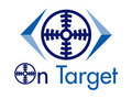 On Target Vector Logo Design Element Royalty Free Stock Photo