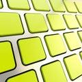 TARGET81_0_ copyspace klucze klawiaturowy close-up Obrazy Royalty Free