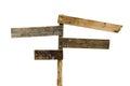 Tarjeta de madera de la muestra Foto de archivo libre de regalías