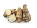 Taro roots Royalty Free Stock Images