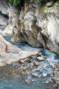 Taroko Gorge – Baiyang Waterfall Trail Stock Photography