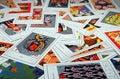 Tarot cards Royalty Free Stock Photo