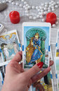 Tarot Cards, Candles And Acces...