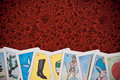 Tarot Fortune Cards Stock Photography
