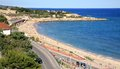 Tarragona coast in Catalonia Spain Stock Images