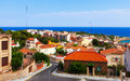 Tarragona and mediterranean catalonia view of spain Royalty Free Stock Photos