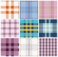 Tartan plaid Royalty Free Stock Photos
