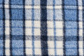 Tartan plaid wool fabric blue Royalty Free Stock Image