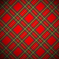 Tartan royal de Stewart Photographie stock