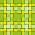 Tartan seamless pattern Stock Photography