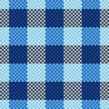 Tartan seamless pattern Royalty Free Stock Photo