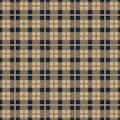 Tartan Seamless Pattern Background. Red, Black, Blue, Beige, Green and White Plaid, Tartan Flannel Shirt Patterns. Trendy Tiles Royalty Free Stock Photo