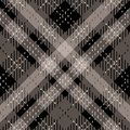 Tartan Seamless Pattern Background. Red, Black, Gray and White Plaid, Tartan Flannel Shirt Patterns. Trendy Tiles Vector Royalty Free Stock Photo