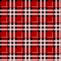 Tartan Seamless Pattern Background. Red, Black and White Plaid, Tartan Flannel Shirt Patterns. Trendy Tiles Vector Illustration fo Royalty Free Stock Photo