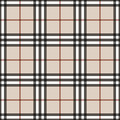 Vector seamless scottish tartan pattern in pink, blue, turquoise, black, beige. British or irish celtic design for textile, clothe
