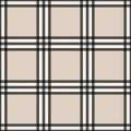 Tartan seamless pattern beige