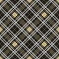 Tartan seamless pattern. Plaid texture vector. eps10