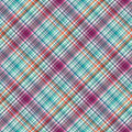 Tartan texture fabric seamless pattern vector background Royalty Free Stock Photos