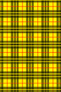 Tartan-yellow Royalty Free Stock Images