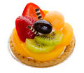 Tarte de fruit Images stock