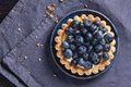 Tarte de myrtille Photo libre de droits