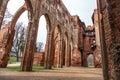 Tartu Cathedral Ruin Royalty Free Stock Photo