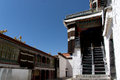 Tashilhunpo monastery buddist in tibet photo taken on april Stock Photos