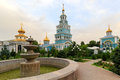 Tashkent Cathedral of the Russian Orthodox Church Royalty Free Stock Photo