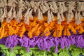 Tassels in more colors background Royalty Free Stock Photo